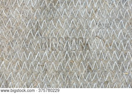 Stitched Felt. Texture Or Background. High Resolution Photo. Full Depth Of Field.