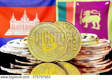 Concept For Investors In Cryptocurrency And Blockchain Technology In The Cambodia And Sri Lanka. Bit