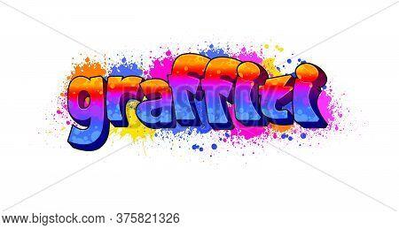 Graffiti Text Logotype Design