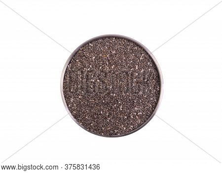 Chia Seeds Are Tiny Black Seeds From The Plant Salvia Hispanica, Which Is Related To The Mint And We
