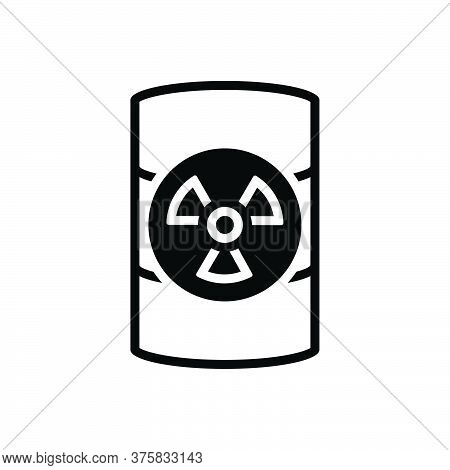 Black Solid Icon For Hazardous-waste Hazardous Waste Dangerous Perilous Parlous Emergency