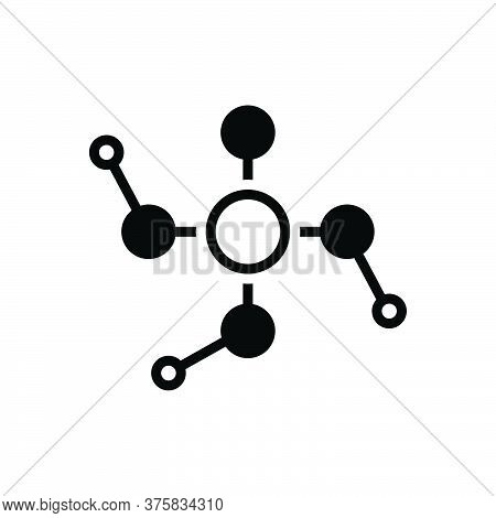 Black Solid Icon For Phosphoric Phosphorous Acid Atomic Chemistry Chemical Element Formula