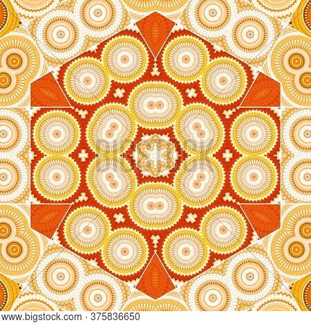 Abstract Hexagon Seamless Geometric Patterns Background - Geometric Circle - Abstract Geometric Patt