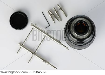 Isometric View Of Black Generic Smartphone Isolated On White Background