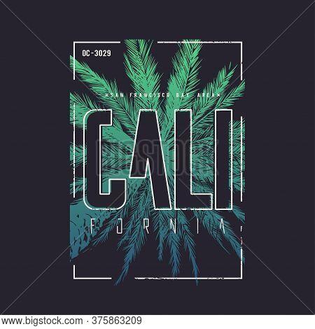 California San Francisco Vector T-shirt Design, Poster, Print