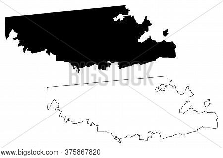 Tijuana City (united Mexican States, Mexico, Baja California State) Map Vector Illustration, Scribbl