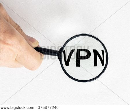 Vpn Virtual Private Network Word Acronym On Yellow Sticky Notes Paper