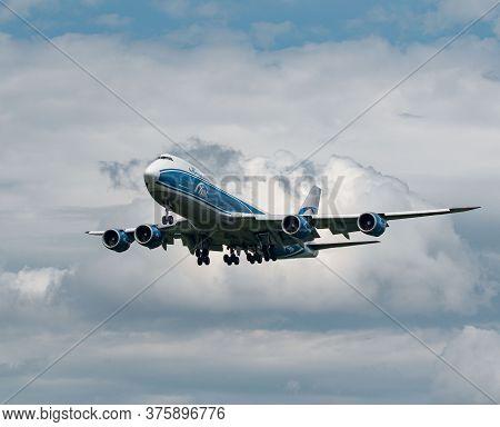 Air Bridge Cargo Boeing 747-8f Arriving In Frankfurt, Germany On June 27th 2020