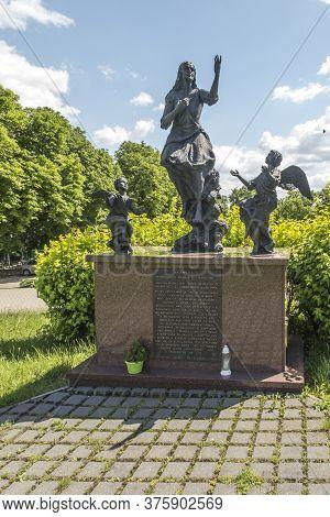 Czestochowa, Poland, June 23, 2020: The Mystery Of The Holy Rosary Around Jasna Gora. Glorious Secre