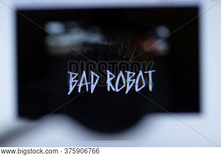 Moscow, Russia - 1 June 2020: Bad Robot Website With Logo , Illustrative Editorial.