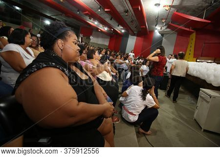 Salvador, Bahia / Brazil  - October 18, 2018: Obsessed Patients Are Seen At The Bahia State Diabetes