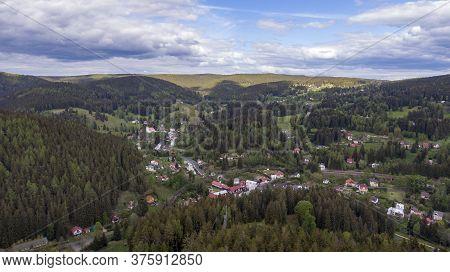 Small Village Nove Hamry In Ore Mountains - Czech Republic