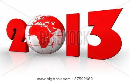 New Year 2013 With Globe
