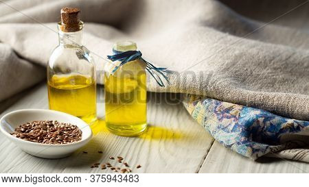 Flax Products, Linen Textiles, Flaxseed Oil And Flax Seed