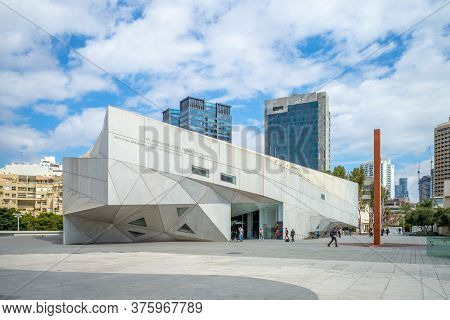 March 7, 2019: Tel Aviv Museum Of Art Located In Tel Aviv, Israel, Established In 1932 For  The Home