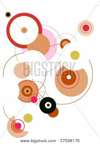 Colorful Retro Circles