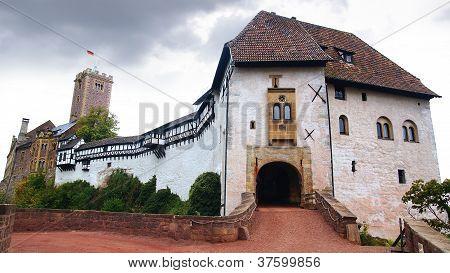 Landscape with Wartburg Castle in Eisenach