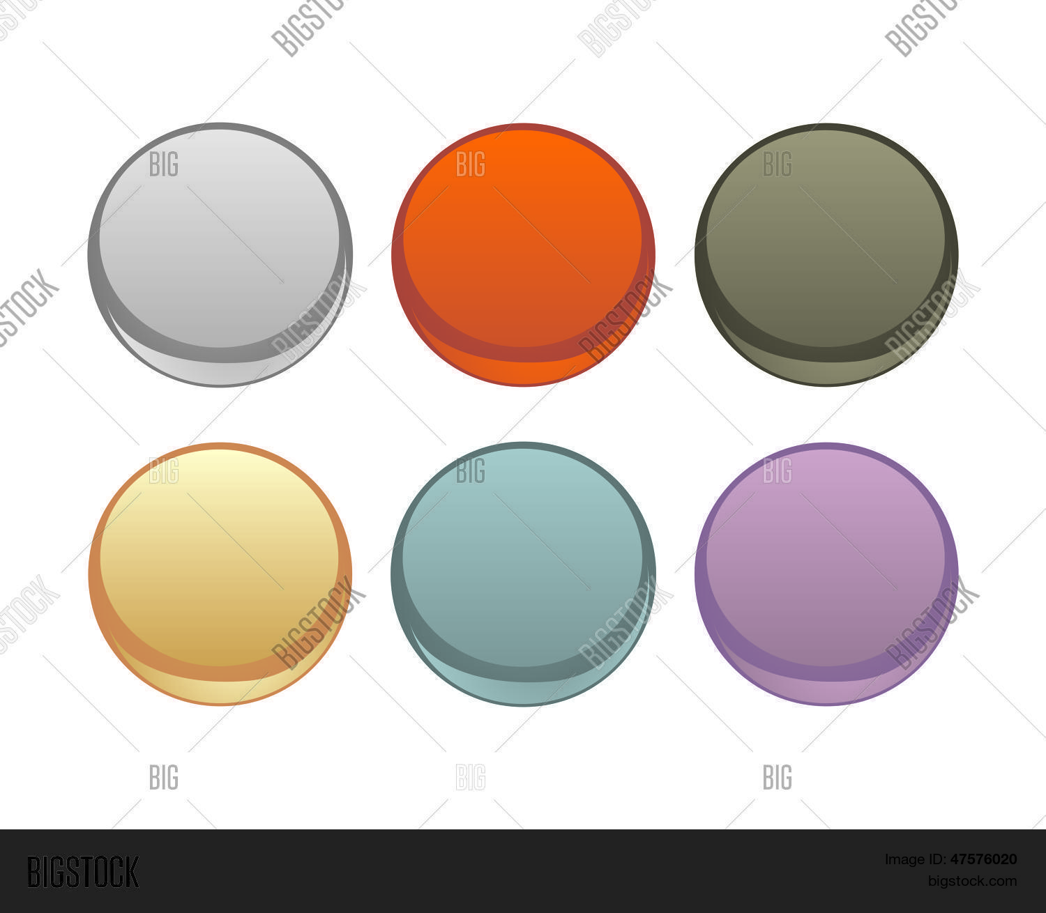 Vector Web Buttons Vector & Photo (Free Trial) | Bigstock
