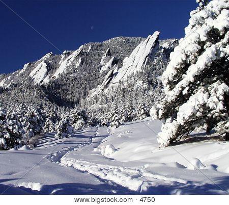 Flatirons First Snow
