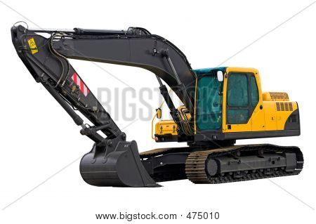 Excavator Ready For Work