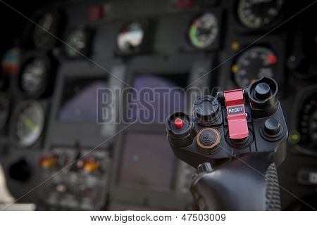 Helicopter Control Stick