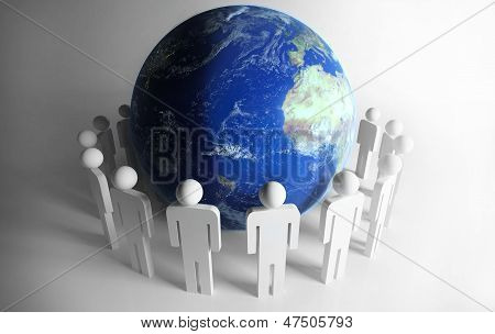 People Around Planet