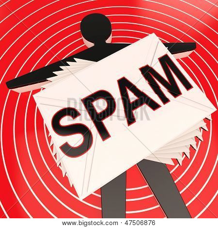 Spam Target Shows Unwanted And Malicious Spamming
