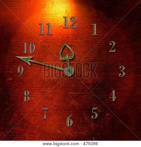 im Alter von Uhr