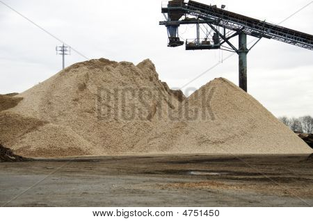 Yard Of Wood Chips