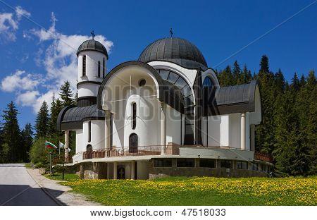 Church In Ski Resort Pamporovo
