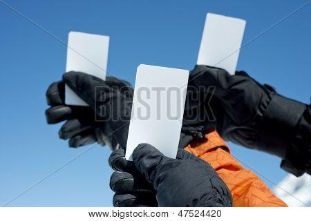 Ski Lift Admission Ticket