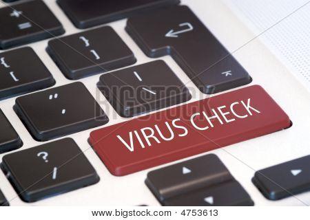 Virus Check Keyboard