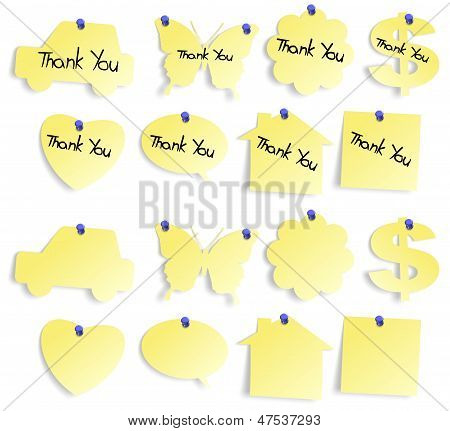 Thank You Notes Set