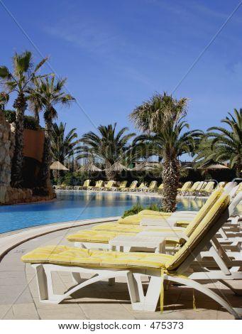 Poolside Resort (portrait)