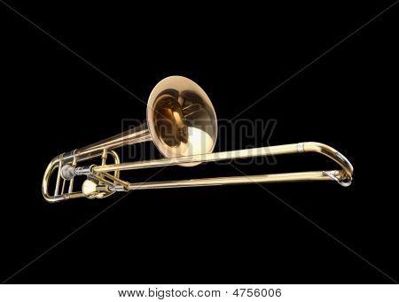 Brass Slide Trombone