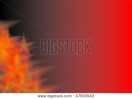 background red