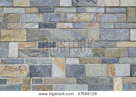 Background of granite stone wall texture