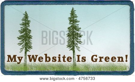 My Website Is Green