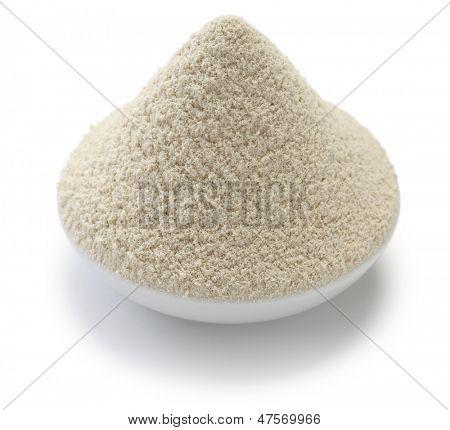 italian chestnut flour (farina di castagne) poster
