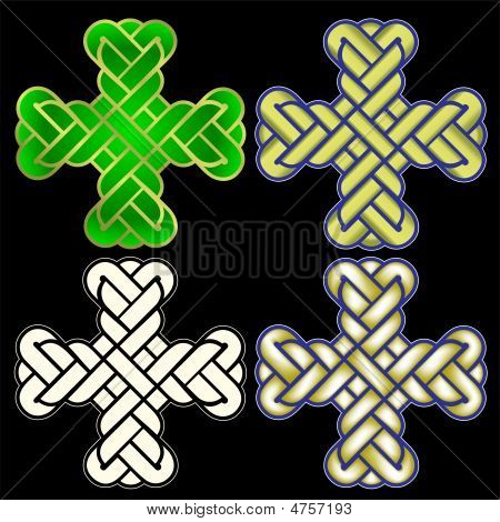 Four Vector Twisted Crosses