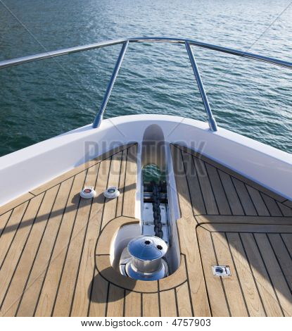 Yacht Anchor Front