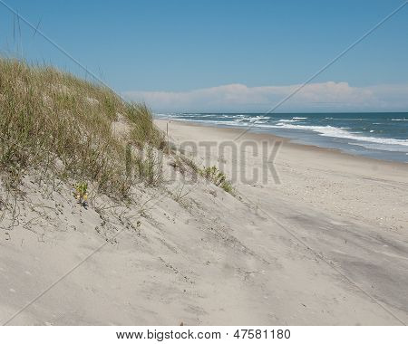 Ocracoke Island Sand Dune