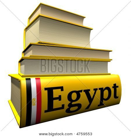 Guidebooks and dictionaries of Egypt