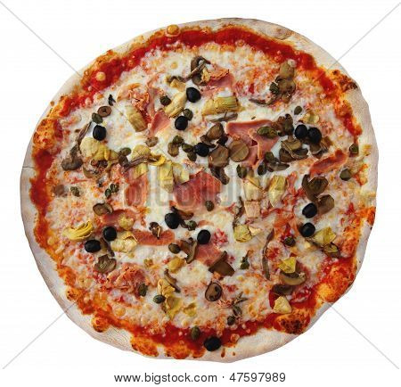 Pizza, Isolated On Background