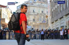Journalist portrait