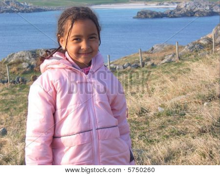 girl on the coast