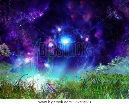 Fairytale Wonderful Background