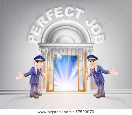 Door To Perfect Job And Doormen