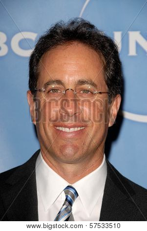 Jerry Seinfeld at NBC Universal's Press Tour Cocktail Party, Langham Hotel, Pasadena, CA. 01-10-10