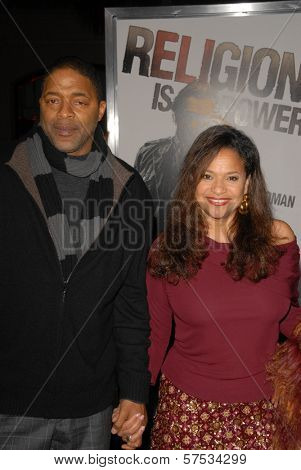 Norm Nixon and Debbie Allen at 'The Book Of Eli' Premiere, Chinese Theater, Hollywood, CA. 01-11-10